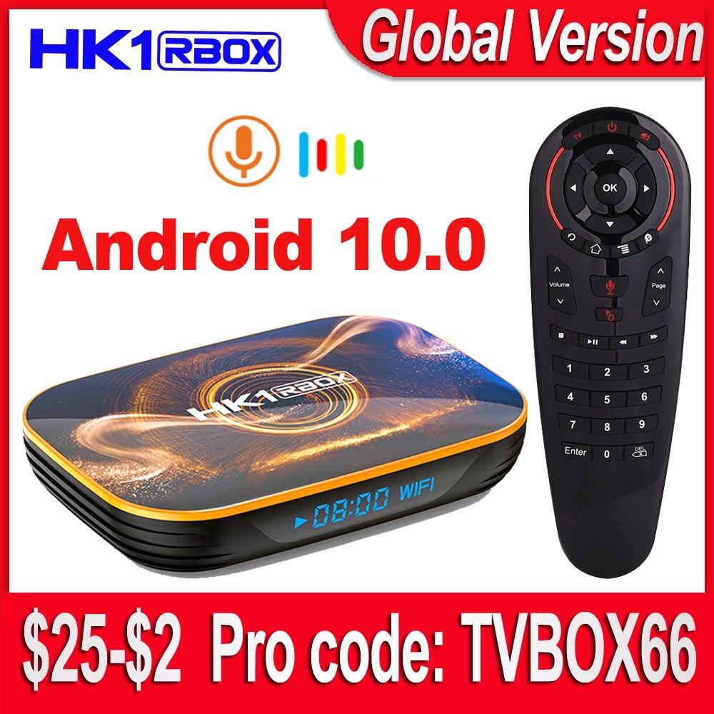 2020 Android 10 TV Box 4GB 64GB TVbox Android 10.0 Smart TV BOX Rockchip RK3318 4K 60fps USB3.0 Google Play Netflix Youtube