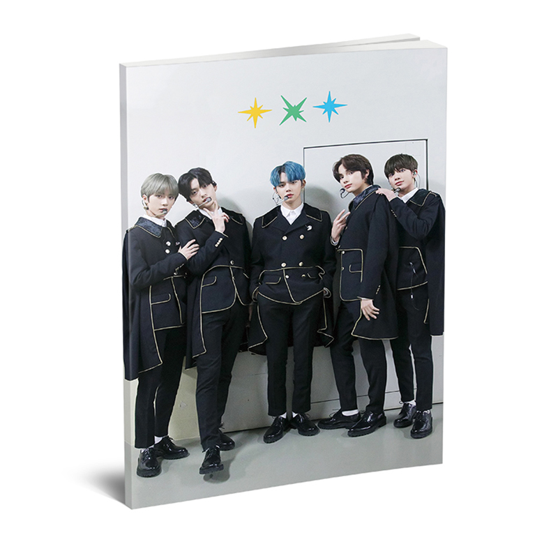 Kpop TXT 2020 SEASON'S GREETINGS Mini Photobook K-pop TOMORROW X TOGETHER Mini Photo Album Book Photo Card Fans Collection