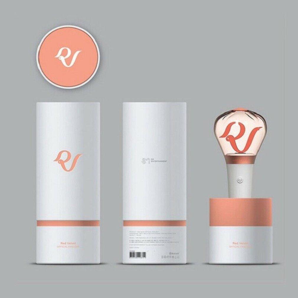 Compact Size LED Red Velvet Kpop Stick Lamp Hiphop Lightstick Official Concert Lamp Fluorescent Stick Aid Rod Official