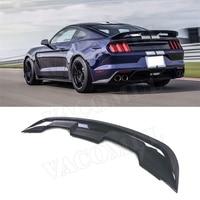 Carbon Fiber Rear Boot Spoiler Wings for Ford Mustang GT V8 V6 Coupe 2015 2019 FRP GT500 Style Spoiler Car Styling