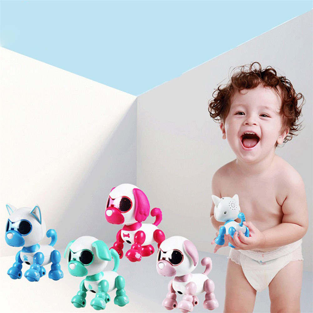 Electronic Pets Toys Kids Interaction Fun Playmate Sound Flexible Recording Smart Dog Inductive Touch Puppy Intelligent Robot