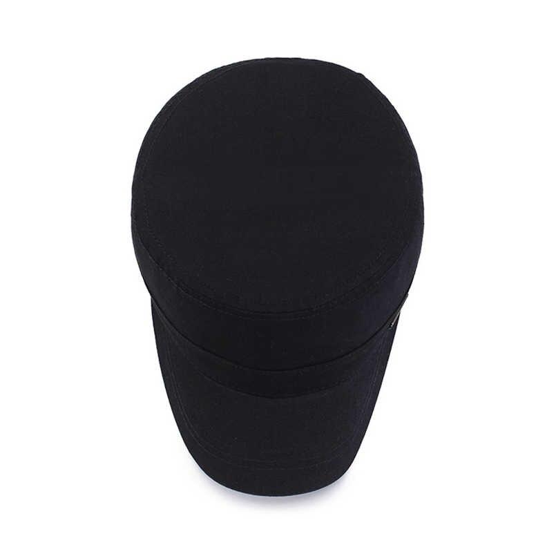 EAGLEBORN 2020 חדש אביב סתיו צבאי גברים כובע כובע אבא צבאי כובע קלאסי נשים כובעי אופנה כובע שחור 100% כותנה כובע