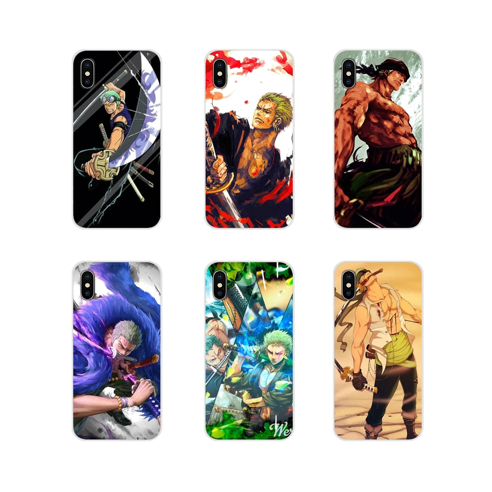 One Piece Roronoa Zoro <font><b>Anime</b></font> For <font><b>Xiaomi</b></font> Redmi Note 3 4 5 6 7 8 Pro <font><b>Mi</b></font> Max <font><b>Mix</b></font> <font><b>2</b></font> 3 2S Pocophone F1 Accessories Phone Shell Covers image