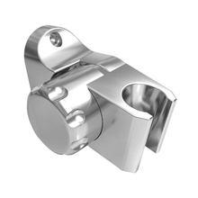 Banyo duş tutucu 30 ° ayarlanabilir duş başlığı tutucu duvara monte el duş başlığı braketi için ev banyo aksesuarları