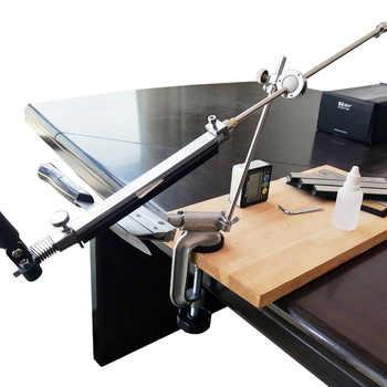 Nuovo Verison Bordo pro per affilare i coltelli con 360 gradi di vibrazione Costante angolo di utensili di Rettifica Smerigliatrice macchina KME temperamatite