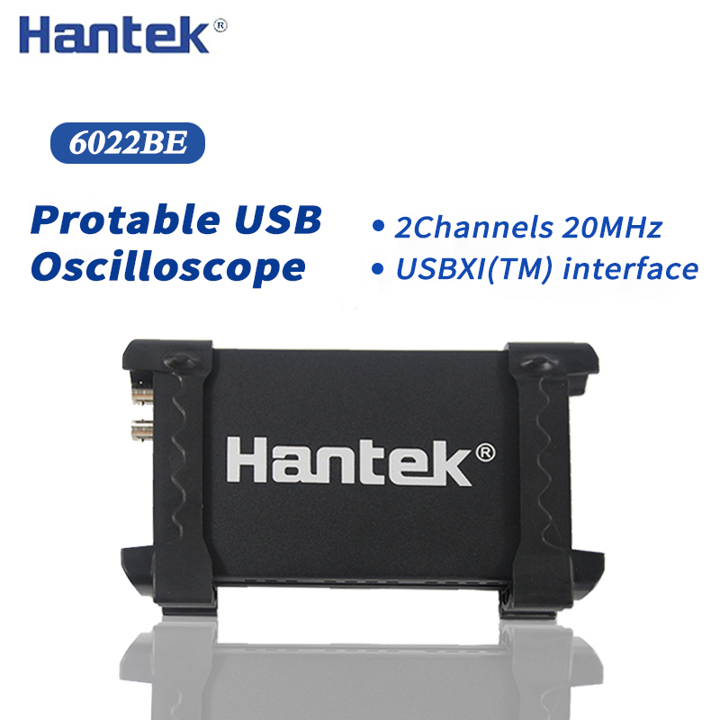 Hantek 6022BE PC USB Digital Portable Oszilloskop 2 Kanäle 20MHz Tragbare PC USB oszilloskope Handheld osciloscope