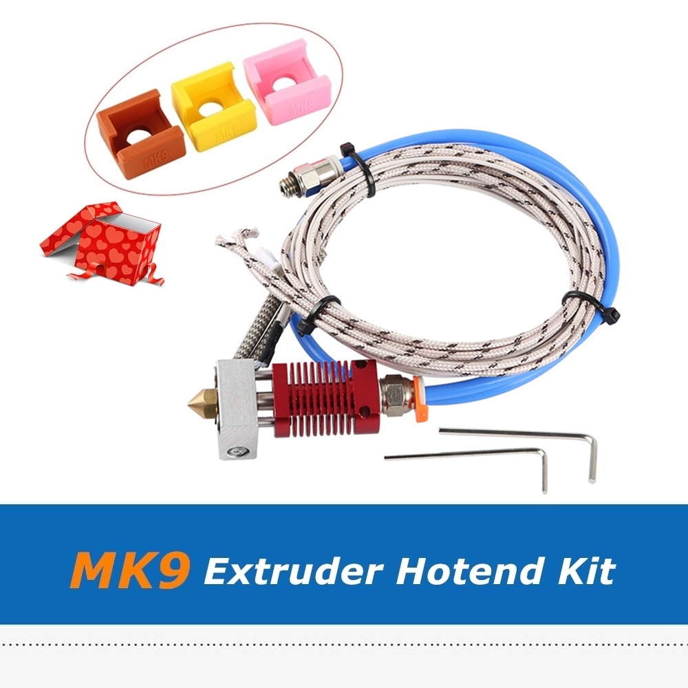 Creality 3D Printer Parts 24V Extruder Hotend Kit with Silicone Sock for CR-10S Pro 3D Printers