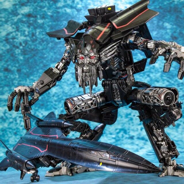 AOYI 変換 LS 15 Jetfire Skyfire の SS32 & SS35 特大 LS15 アクションフィギュアロボットのおもちゃ