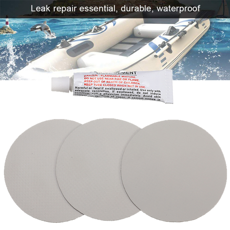 Inflatable Toy Swimming Pool PVC Puncture Repair Glue Kit Glue For Floating Inflatable Bed Rubber Boat Round Patch
