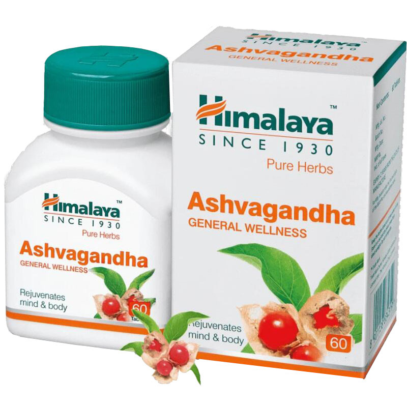 Ashwagandha Improves M Ood, Reduces A N X Iety, And Increases Energy Levels By 100% Vegetarian 60 Pcs* 2bottle