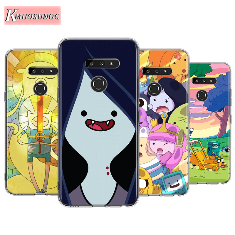 Adventure Time For LG W30 W10 V50S V50 V40 V30 K50S K40S K30 K20 Q60 Q8 Q7 Q6 G8 G7 G6 Thinq Phone Case