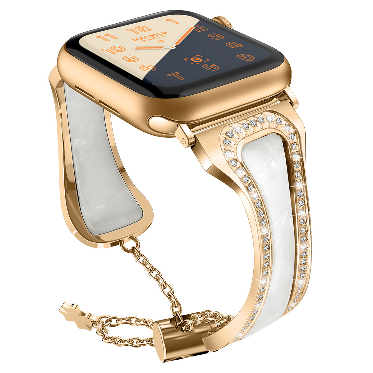 Women's Diamond Band for Apple Watch 45