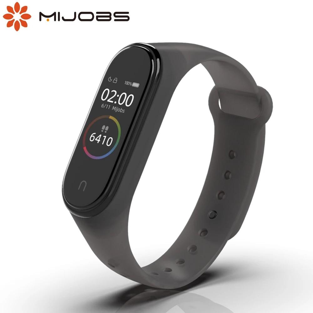 For Mi Band 5 Strap Wrist Bracelet For Xiaomi Mi Band 6 Silicone Opaska Correas Miband 3 4 5 6 Wristband Accessories Translucent Smart Accessories Aliexpress