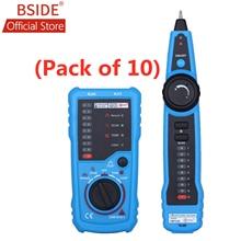 BSIDE FWT11 Ağ Kablosu Test Cihazı RJ11 RJ45 Telefon Tel Tracker Tracer Toner Ethernet LAN Hattı Bulucu (10lu paket)