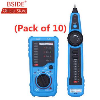 BSIDE FWT11 Network Cable Tester RJ11 RJ45 Telephone Wire Tracker Tracer Toner Ethernet LAN Line Finder (Pack of 10) - DISCOUNT ITEM  0% OFF All Category