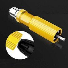 Electric Rivet Gun Drill Adapter Kit, Blind Riveter for Cordless with Solid Aluminum Billet