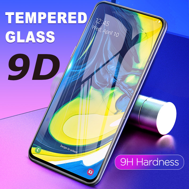 9D Tempered <font><b>Glass</b></font> For <font><b>Samsung</b></font> A50 A20E A70 Screen Protector For <font><b>Samsung</b></font> <font><b>Galaxy</b></font> A30 A20 A10 <font><b>A60</b></font> A40 A80 M10 M20 Protection <font><b>Glass</b></font> image
