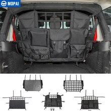 MOPAI уборка для Jeep Wrangler JK JL Автомобильный багажник с изоляцией домашних животных аксессуары для Jeep Wrangler 2007-2019