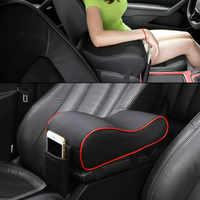 Uniwersalna nakładka pod podłokietnik samochodowy Auto podłokietniki konsola główna samochodu ramię składane krzesło pudełko na waciki pojazd ochronny Car Styling