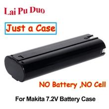 Pour Makita 7.2 V ni cd Ni MH batterie boîtier en plastique (pas de cellules de batterie) 7000 7002 7003 632003 2 632002 4 191679 9 6002D 3700D 4770D