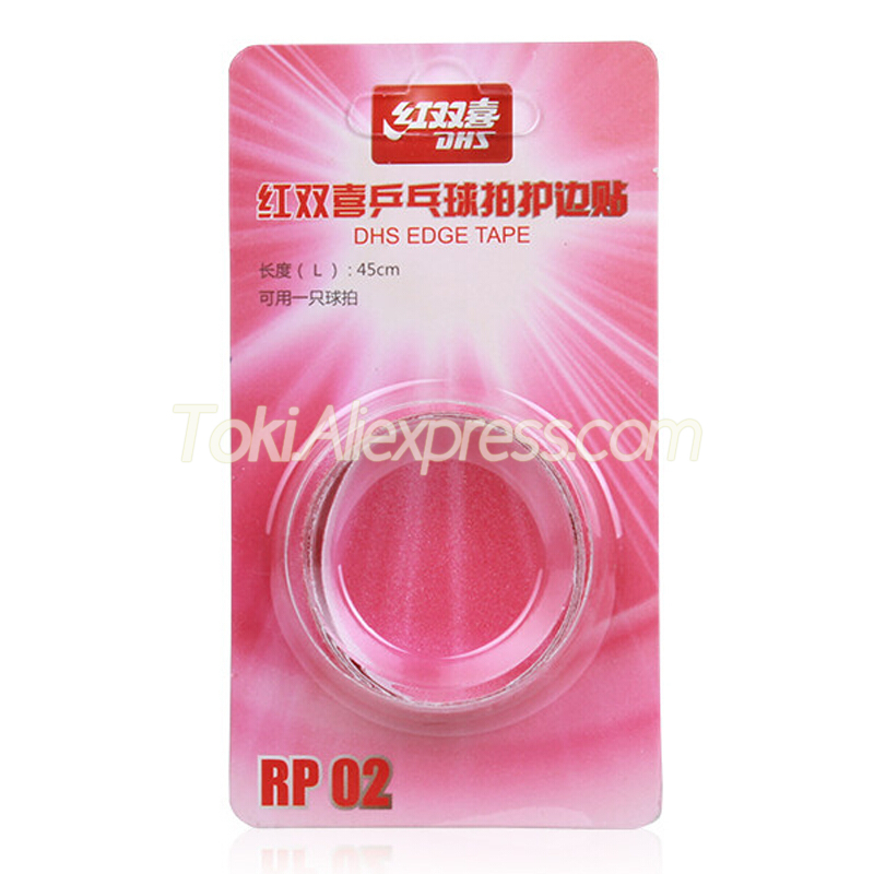 2x DHS Table Tennis Racket Edge / Side Tape Professional Accessories Original DHS Ping Pong Bat Protective Side Tape / Protector