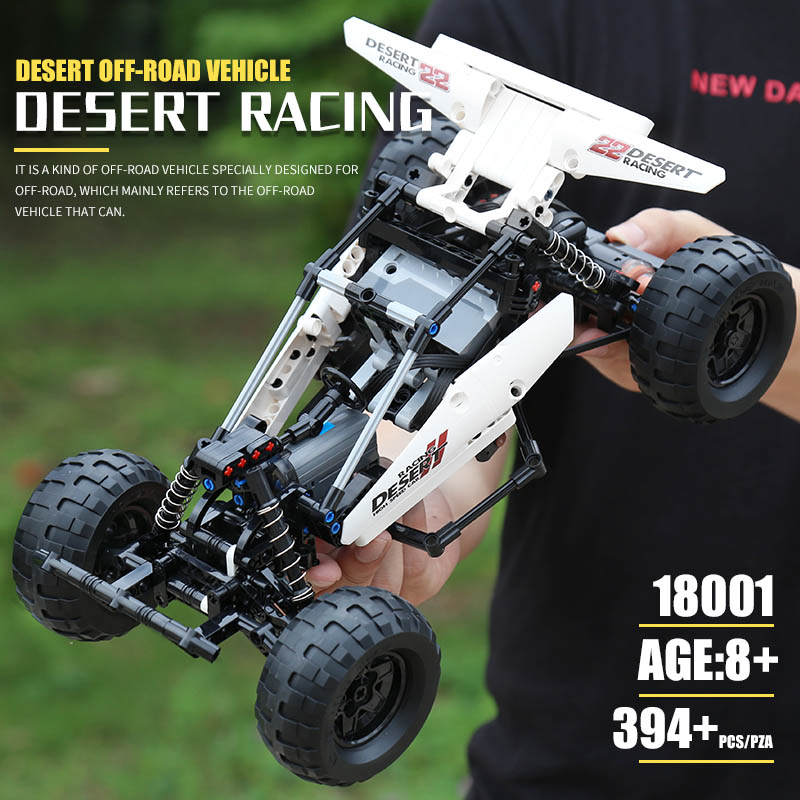 MOULD KING 18001 The MOC-1812 RC PF Buggy 2 Desert Race Car