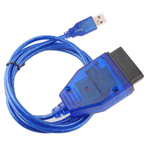 Image 2 - VAG USB OBD2 16PIN Diagnose Kabel Kkl Scanner Interface für Audi Fahrzeug 409 Interface Auto ECU Überprüfen Gerät FT232RL CH340