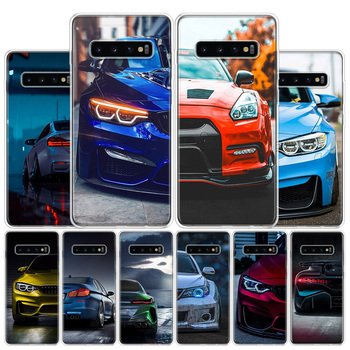 Blue Red black For BMW Phone Case For Samsung Galaxy S10 S20 Ultra Note 10 9 8 S10E S9 S8 S7 Edge J4 J6 J8 Plus + Cover Coque image