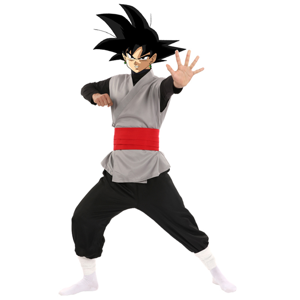 COS Dragon Ball Super Son Goku Black Zamasu Dragonball Z Cosplay Costume Outfit