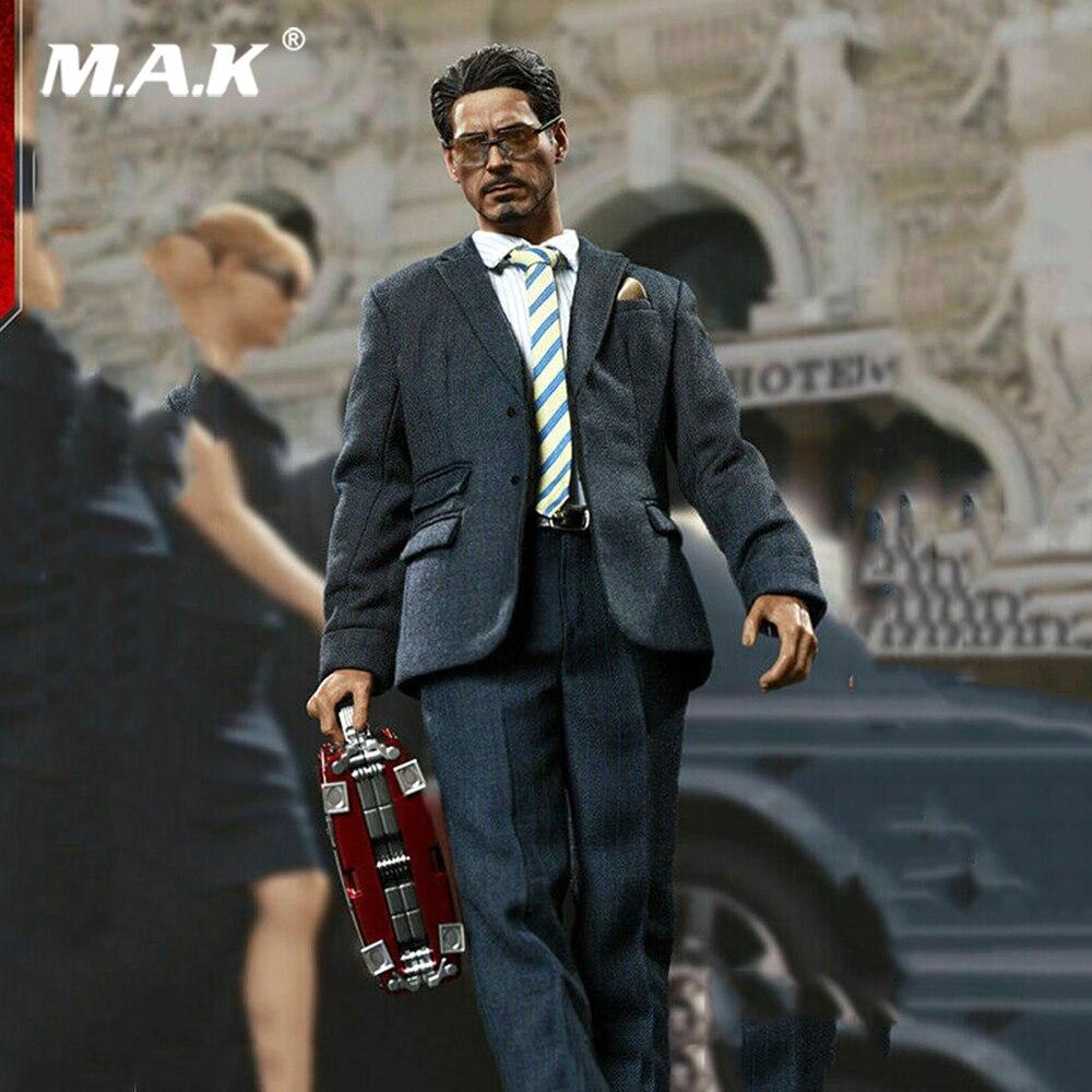 1/6 полный комплект, модель воина 1/6, Tony Stark, американский миллиардер, номер SN001, фигурка, игрушка, набор, фигурка для коллекции