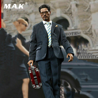1/6 Full Set Warrior Model 1/6 Tony Stark American Billionaire NO.SN001 Action Figure Toy Set Action Figure For Collection