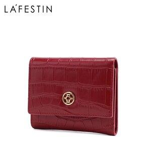 Image 2 - LA FESTIN 2020ใหม่แฟชั่นผู้หญิงสั้นกระเป๋าสตางค์เหรียญ
