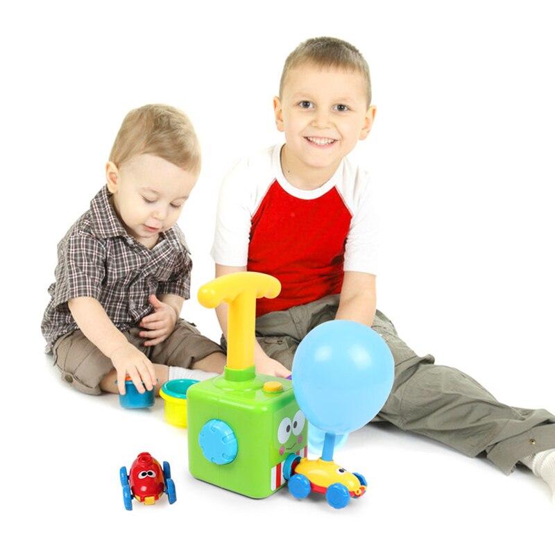Erőgömbös autós játék Montessori játékok oktatási kísérlet - Modellautók és játékautók - Fénykép 5