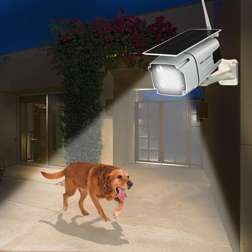 Ip67 Outdoor Camera 1080p Wifi Wireless Camera 2m Ip Camera Solar Battery Low Power Consumption Pir Surveillance Security Camera|Surveillance Cameras| |  - title=