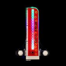 2 боковых светодиодный 32 режима велосипедных спиц предупредить светильник Водонепроницаемый подсветка велосипедного колеса шины светильник сигнальная лампа Светоотражающие Обода Радуга шина фиксированная
