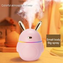 Humidifier Diffuser Car-Fragrance Night-Light Big-Spray Bedroom Creative Gift Rabbit