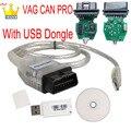 VAG CAN PRO CAN BUS + UDS + K-line S.W версия 5.5.1 VCP OBD2 Диагностический интерфейс, USB-кабель, Поддержка Can Bus UDS K линейный считыватель кодов