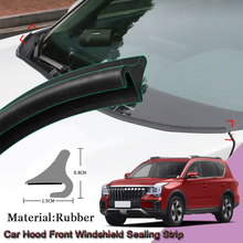 DIY Car Seal Strip Windshied Spoiler Filler Protect Edge Weatherstrip Strips Sticker Accessories For Trumpchi GAC GS8 2017-2020