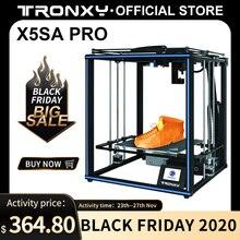 Tronxy X5SA PRO Kit struttura stampante 3D fai da te livello automatico impresora scheda di controllo profilo in alluminio stampanti a colori 3d filamento tpu