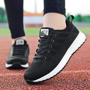 Women Casual Shoes for Women Fashion Breathable Walking Mesh Flat Shoes Sneakers Women 2020 Gym Tenis Feminino Zapatos De Mujer
