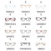 Women Eyeglasses Frame Transparent Myopia Black Cat Eye Glasses Frames 10USD/1PCS
