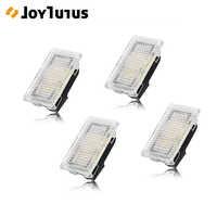 4pcs LED Light Car Interior Light For Tesla Model 3 Model S Model X Ultra Bright Trunk Lamps Replacement Car Door Lamp Easy Plug
