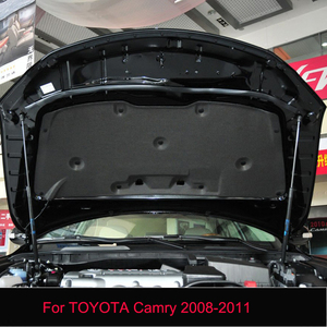 For TOYOTA Camry 2008-2011 1PC Car Hood Engine Thermal Insulation Sound Insulation Cotton Heat Insulation Pad Mat