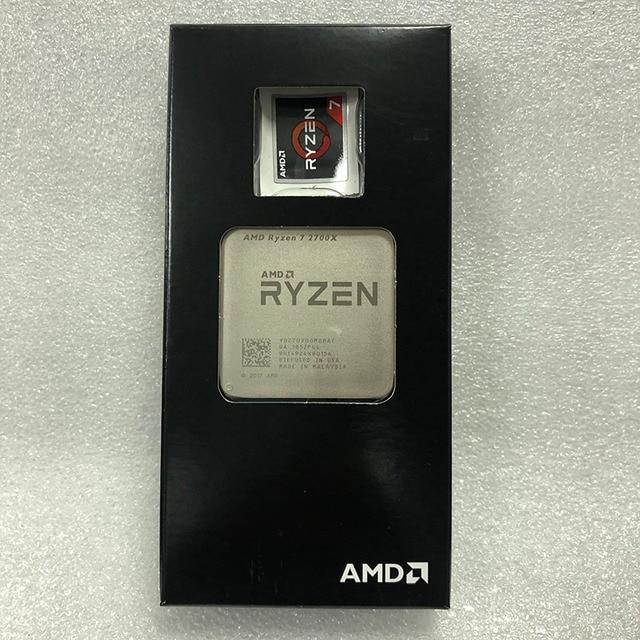 AMD Ryzen 7 2700X R7 2700X 3,7 GHz Acht Core Sinteen Gewinde 16M 105W CPU Prozessor YD270XBGM88AF Buchse AM4