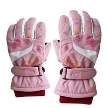От 4 до 10 лет Детские лыжные перчатки для катания на коньках