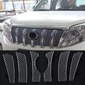 Для Toyota Land Cruiser Prado FJ150 2014-2017 наружная Передняя решетка гриль сетчатая формовочная крышка отделка сетка для скрининга насекомых 6 шт