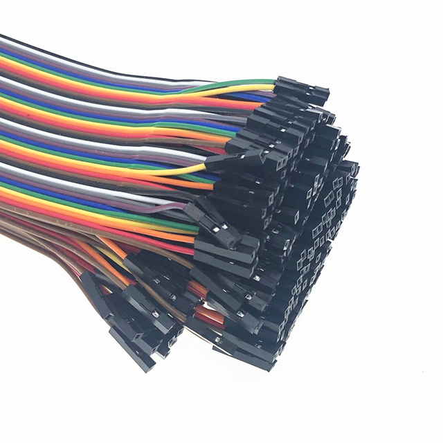 40-120pcs Dupont Line 10CM 40Pin Male to Male + Male to Female and Female to Female Jumper Wire Dupont Cable for Arduino DIY KIT 2