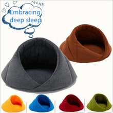 Winter Soft Polar Fleece Pet Mat Warm Nest Cat Small Dog Bed House for Cushion Sleeping Bag High Quality
