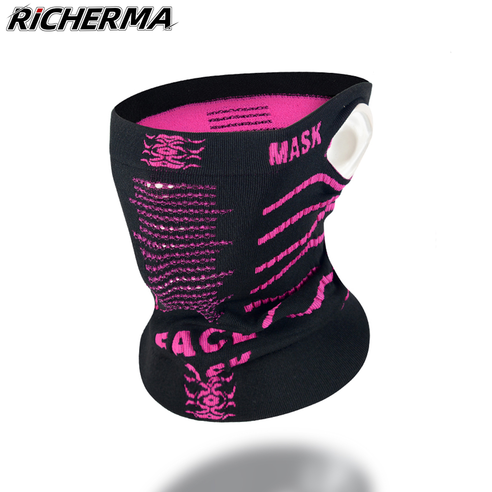 Outdoor Sports Motorcycle Mask Balaclava For Biker Cycling Windproof Keep Warm Knitting Full Face Mask Reusable Washable Mask