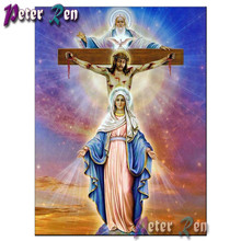 5d Diamond Painting Jesus religious cross Embroidery Diy full Square/round Mosaic Picture Rhinestone Home Decoration 5d diamond embroidery religious jesus full square round drill diamond painting mosaic cross stitch home decoration
